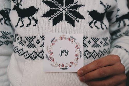 Jultröjor som modeplagg